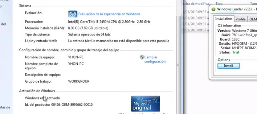 clave de activacion de windows 7 ultimate 32 bits sp1